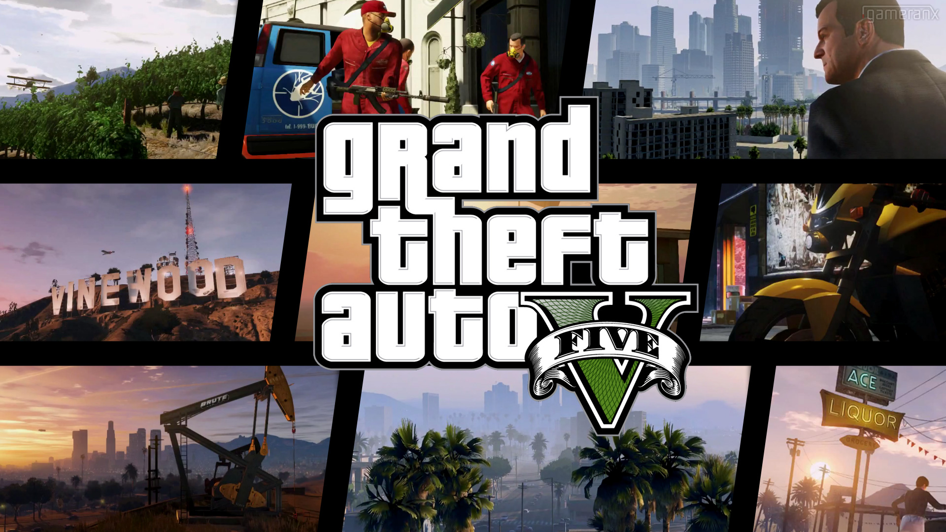 Grand Theft Auto V: Michael, Franklin en Trevor