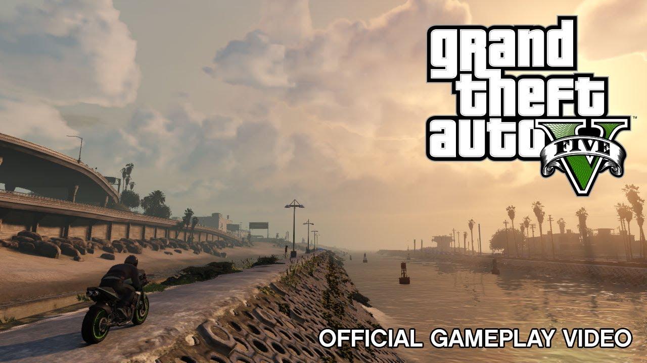 Grand Theft Auto V: Gameplay Trailer