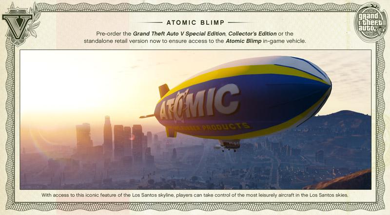GTA 5 Atomic Blimp