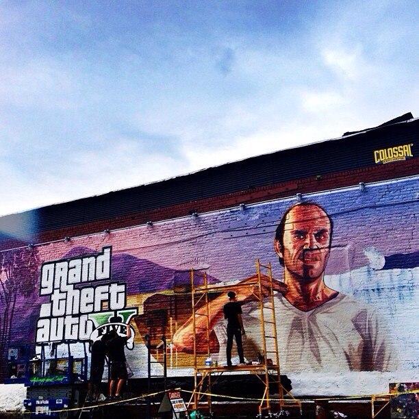 GTA 5 marketing gaat los!