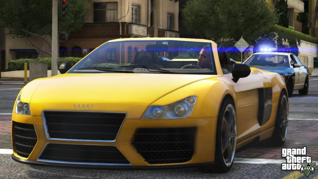 GTA 5: Audi R8 - Obey 9F
