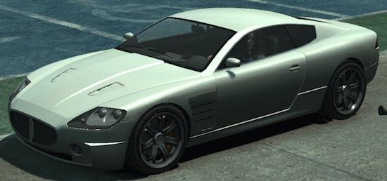 GTA V: Ocelot F620