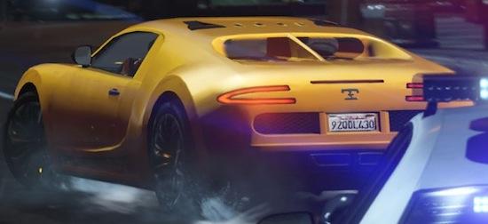 GTA V: T Veyron