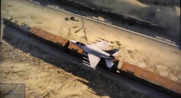 Nederlandse stunt met een Jet in GTA V