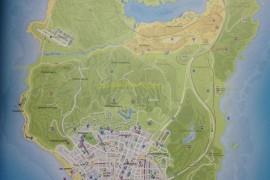 GTA 5 kaart