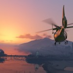 GTA 5: Screenshot 3 - Helikopter