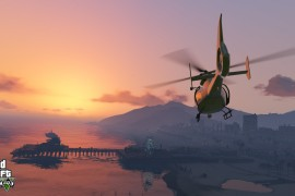 GTA 5: Screenshot 3 - Helikopter