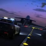 GTA 5: Screenshot 8 - Politie achtervolging op vliegtuig
