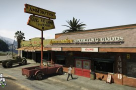 GTA 5: Screenshot 9 - Wapenwinkel