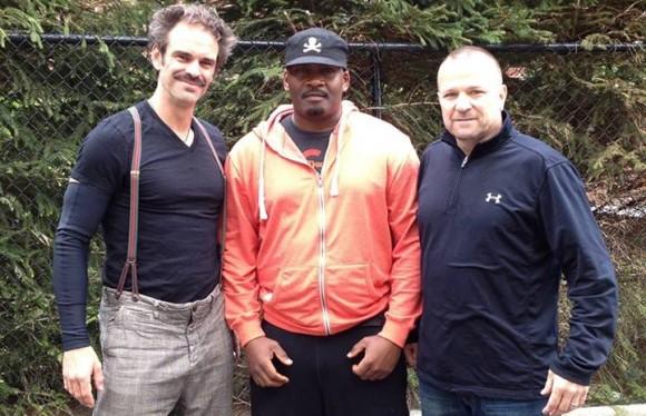Zo zien de drie GTA V acteurs er in het echt uit