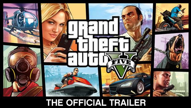 Grand Theft Auto V: Officiële Trailer