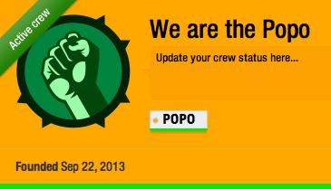 Bij welke crew zit jij?