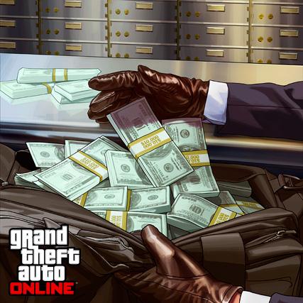 GTA Online geld binnen 2 dagen op je bankrekening