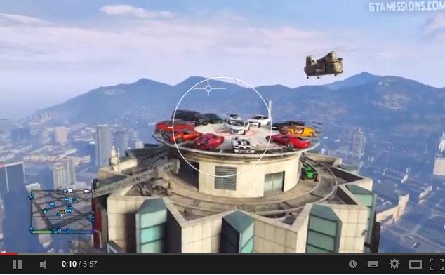 gta-v rooftop demolition derby